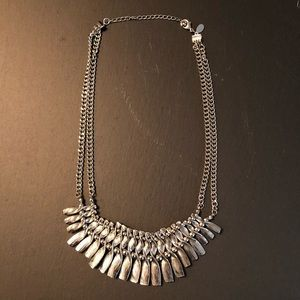 Express Necklace - Silver